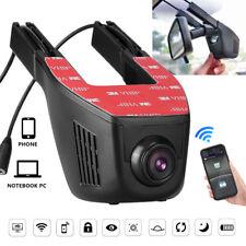 1080P HD Hidden WiFi CAR DVR Dual Lens Dash Cam Front Rear Camera Video Recorder