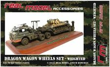 1/35th Real Model US M26 Dragon Wagon wheels- weighted