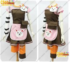 Tiny Tina from Borderlands 2 cosplay costume apron punk with socks MM99