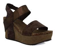 Pierre Dumas Women's Hester 1 brown Synthetic Sandals