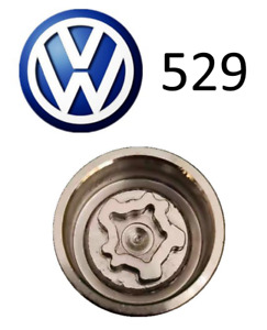 VW New Locking Wheel Nut Key Letter J, Code 529 with 17mm Hex