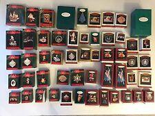 Huge Lot of 53 Hallmark Keepsake Ornaments 1992-1994 Magic Singles Membership
