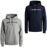 Jack & Jones Originals Hoodie Mens Chest Logo L/S Hooded Sweater JORManthol