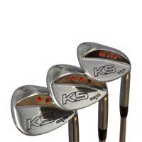 Majek Golf Senior Men's Wedge Set: 52° Gap Wedge-GW, 56° SW, 60° LW Senior Flex