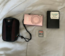 Canon PowerShot ELPH 110 HS IXUS 125 HS 16.1MP Digital Camera Pink Case charger