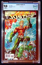 New listing Justice League #4 Cbcs 9.8 Lee Williams Darkseid Aquaman Green Lantern
