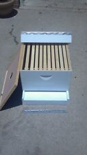 COMPLETE BEEHIVE KIT.  ASSEMBLED/PAINTED READY FOR BEES.
