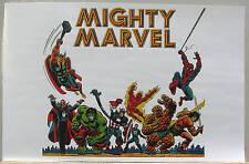 MIGHTY MARVEL HEROES Pin Up Poster Conan Dracula Thing