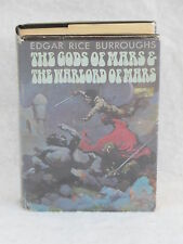 Edgar Rice Burroughs THE GODS OF MARS AND THE WARLORD OF MARS c. 1971 HC/DJ