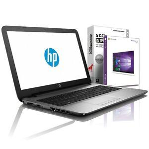 HP Laptop 15.6 - Intel 2,40 GHz - 8GB - 480GB SSD - USB 3.0 - HDMI - Win10 Prof