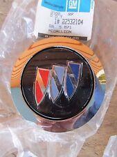 NOS 1986-96 Buick Century LeSabre Park Ave center cap PAIR wire spoke hub cap