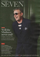 Suggs of Madness on Magazine Cover October 2012