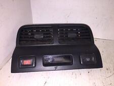 95 96 97 98 99 Nissan Maxima Dash Bezel with Vent Hazard Defrost Clock Switch