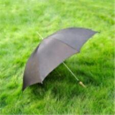 """48"""" Solid Black Golf Umbrella New"""