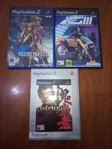 Lotto di 3 giochi per PS2
