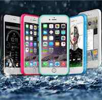 Shockproof Hybrid Rubber Waterproof Soft TPU Case Cover For Apple iPhone 6 6s 6+