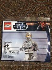 Genuine New Rare LEGO Star Wars Polybag - 5000063 - Chrome TC-14 -  Very RARE