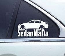 Lowered SEDAN MAFIA car sticker - for Infiniti G35 Sedan v35 USDM