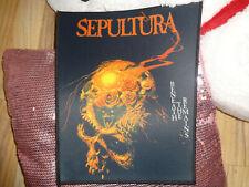 Sepultura Backpatch Patch Thrash Metal Exodus