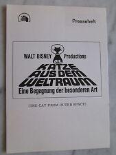 DIE KATZE AUS DEM WELTRAUM - Presseheft - Walt Disney