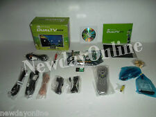 Nvidia DualTV MCE Remote TV Radio Tuner Video Capture Adapter 900-10259-0025-000