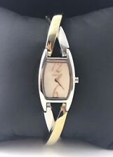 DKNY Two Tone MOP Stainless Steel Bracelet Ladies Watch NY4293