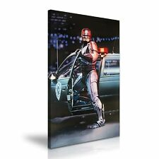 RoboCop Movie Poster Canvas Art Print 50cmx76cm