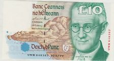 More details for p76b central bank of ireland 1999 £10 banknote in mint condition.