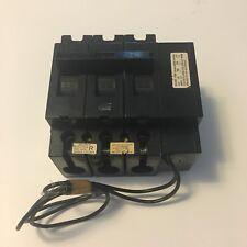 SQUARE D EHB341001082 3 POLE 480 VOLTS 100 AMP BOLT-ON WITH SHUNT TRIP EHB34100