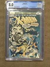 X-Men 94 CGC 8.0 OW/White Pages (1st app of New X-Men Team in Title!!)