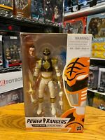"Power Rangers Lightning Collection Action 6"" Figure White Ranger Mighty Morphin"