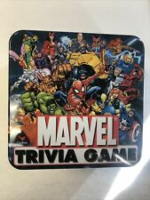 Marvel Trivia Game Tin Box Complete (2001)