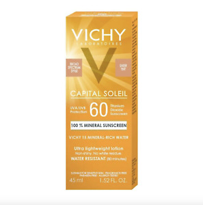 Vichy Capital Soleil Mineral Rich Water Ultra Lightweight Lotion SPF 60 1.52 oz
