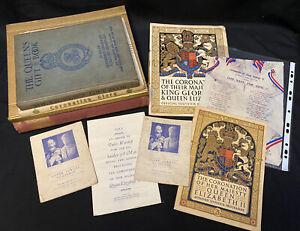 Royal Family Collection Of 10 Books, Programmes, Memorabilia