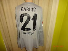 FSV Mainz 05 Nike Spieler/Matchworn Torwart Trikot 2014/15 + Nr.21 Karius Gr.XL