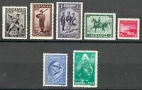 Romania 1931 MNH Mi 406-412 Sc 389-395 Centenary of the Romanian Army  ** XXF