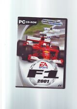 F1 2001 & F1 MANAGER - LIMITED EDITION PC GAME Fast Post ORIGINAL & COMPLETE VGC