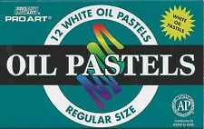12 PIECE PASTEL SET ~ WHITE OIL PASTELS ~ FREE SHIPPING!