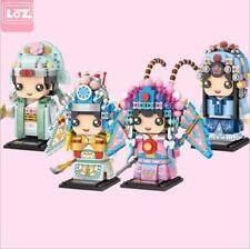 4 Set LOZ Building Blocks Chinese Drama Character Daomada 1277pcs