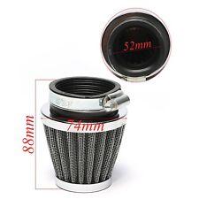 Universal 52mm Motorcycle Air Intake Filter For Yamaha XJ600-900 Suzuki GSX60