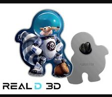 NEW Ice Age Movie Collision Course Real D 3D 2pc Pin Great Gift