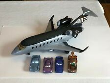 LOT Diecast Disney Pixar Cars 2 Movie Holley/Finn/Mater/Torque + Siddeley Plane