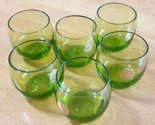 6 schöne grüne Likörgläser WMF
