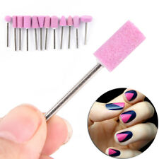 12x Nail Drill Bits Electric Manicure Head Replacement Device Tool ONEW YK