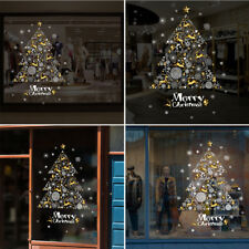 Merry Christmas Tree Removable Windows Vinyl Wall Stickers Decal Decor