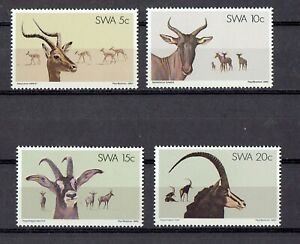 SOUTH WEST AFRICA -1980 Impala  Antelopes - Sc# 443-446 MNH FULL SET