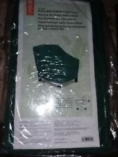 """Adirondack Green Cover for Patio Chair fits up to 34"""" L 40"""" D 36"""" H in Package"""