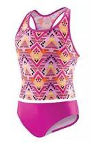 New Speedo Girls Tankini 2 Piece Swimwear Size:7
