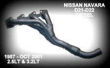 FITS NISSAN NAVARA D21- D22 1987 - OCT 2001 EXHAUST HEADERS / EXTRACTORS