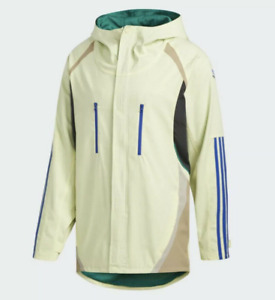Adidas Snowboarding Alltimers Men Jacket Yellow Blue EC3311 size XL